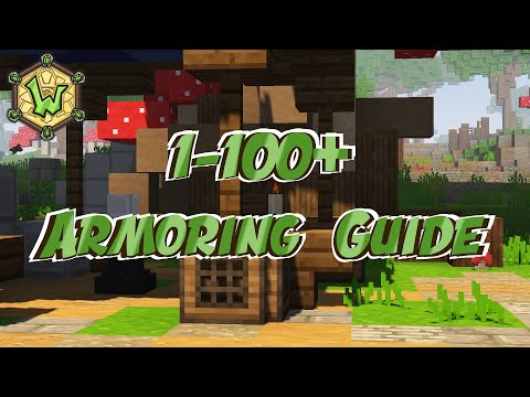 1 – 100+ Armoring | Crafting Ingredient Guide | Wynncraft | Profession Guide
