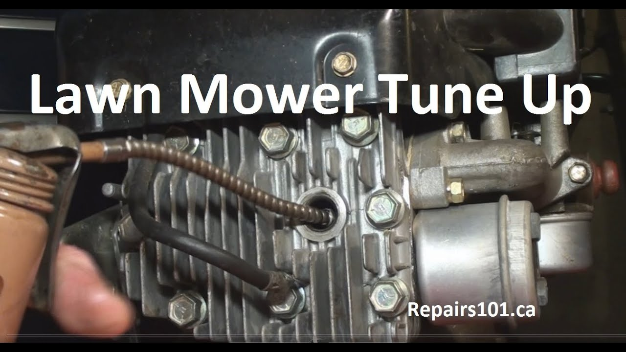 Lawn Mower Tune Up Youtube