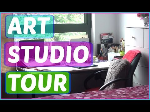 ART STUDIO TOUR 2017  / STUDIO SPACES / WORK SPACE INSPIRATION / HOME STUDIO OFFICE SPACE