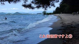 4K これ琵琶湖ですよ②