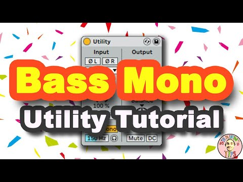 MUST SEE! Ableton 10 Utility Tutorial   Mixing Tips & Tricks (Shaun'sTips #4)