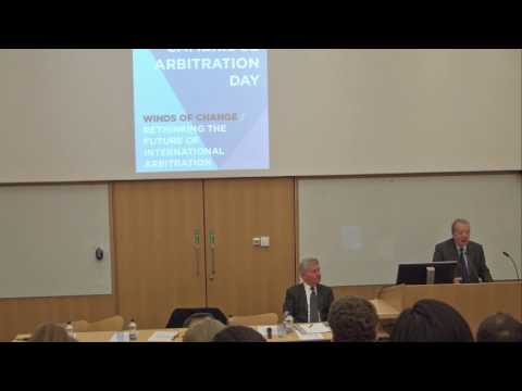 Cambridge Arbitration Day 2017: Keynote speech: Yves Derains, Partner Derains & Gharavi