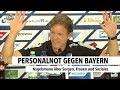Personalnot gegen Bayern | RON TV