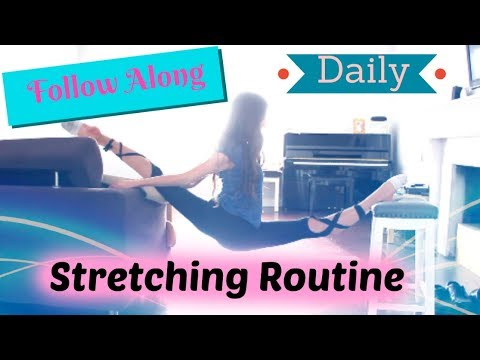 Follow Along Daily Stretching Routine