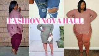 PLUS SIZE FASHION NOVA HAUL + TRY ON! | LACENLEOPARD