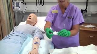 Central Line or PICC Line Dressing Change
