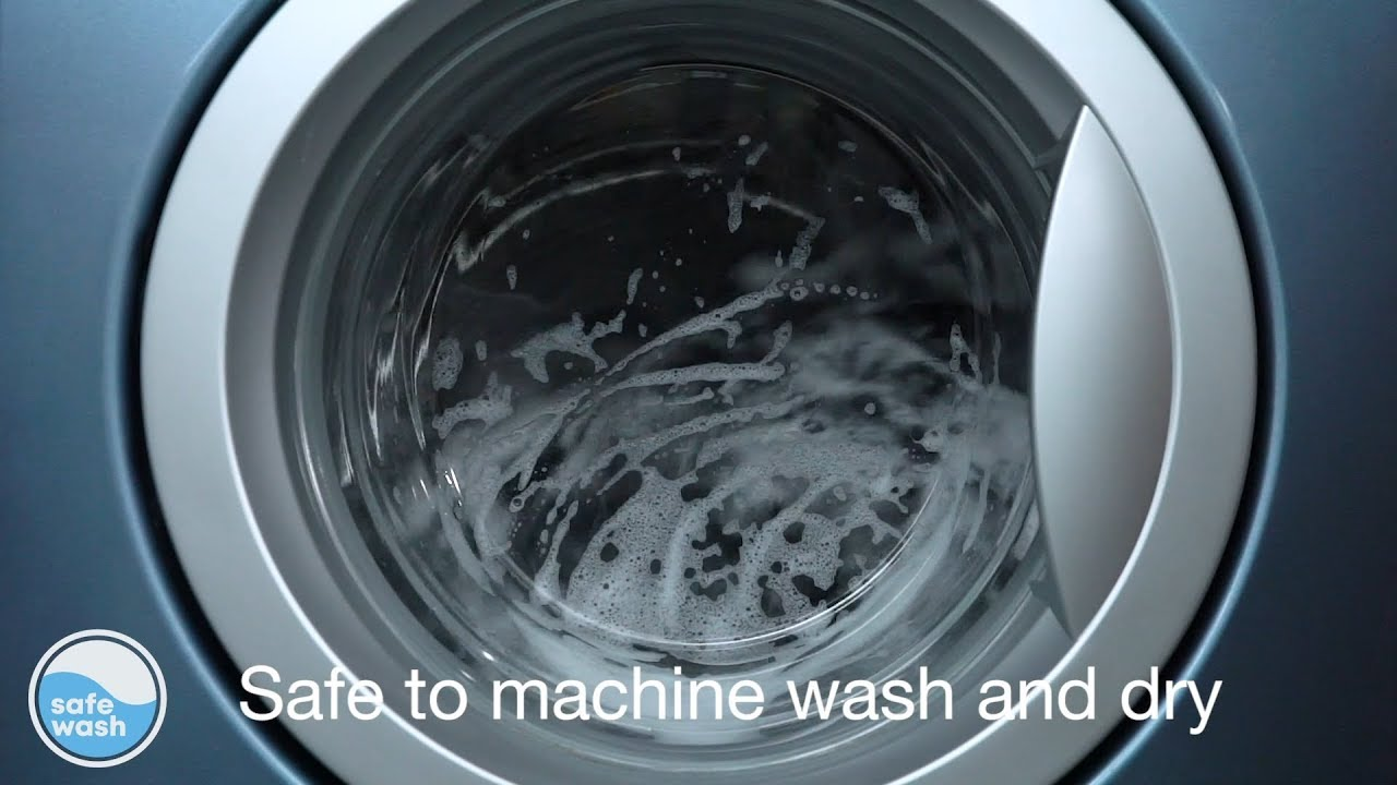 SafeWash by Britax – the car seat fabric that is naturally safe to wash,  and dry, again and again! - YouTube
