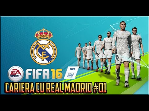 FIFA 16 ROMANIA Cariera cu Real Madrid - Primele victorii