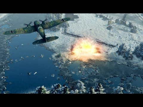 INVASION: Soviet Troops In Finland | Sudden Strike 4: Winter Storm DLC Gameplay
