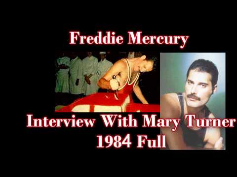 Freddie Mercury Interview with Mary Turner 1984 FULL