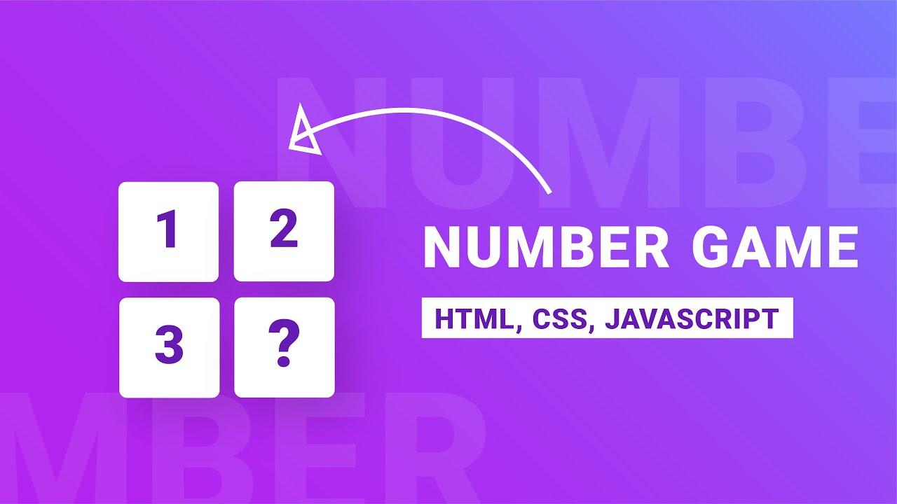 Number Guessing Game JavaScript  | JavaScript Game