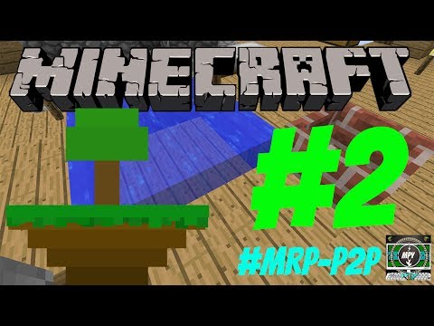 Minecraft Modern Skyblock Lets Play/Tutorial/Game Play Series Episode 2 CRUCIBALIZED WATER!!