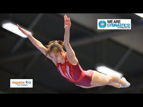 HIGHLIGHTS - 2016 Olympic Test Event, Rio (BRA) - Women's Trampoline