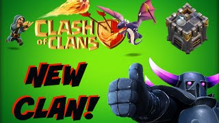 NEW CLAN?! | Clash Of Clans