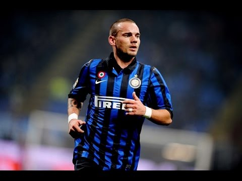 Wesley Sneijder ● All Freekick Goals With Inter ●