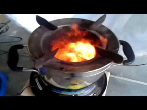 solar com wood stove