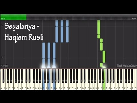 Haqiem Rusli - segalanya Tutorial Cover ( Piano Instrumental)
