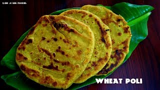 My Cooking My Style -Wheat poli..!!