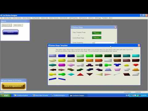 Cool Button Designer 7 - Introduction by Alexander...