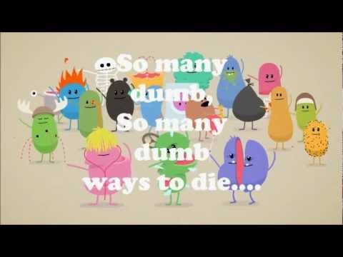 Dumb Ways To Die with lyrics