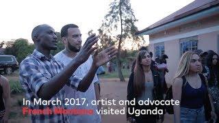 French Montana Visited Uganda