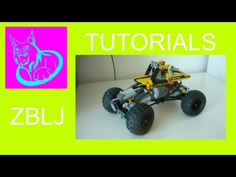 TUTORIAL: HOW TO MAKE A LEGO TECHNIC ROCK CRAWLER IN 30 MINUTES WITH COMMENTARY