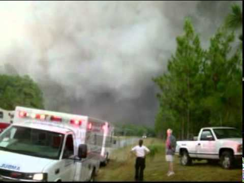 The Simmons Road Fire - Bladen County, N.C.