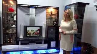 Новая модель стенки от  МЕБЕЛЬ ЭДЕН(Презентация новой стенки для гостинной от магазина-фабрики МЕБЕЛЬ ЭДЕН в Ашкелоне,ул.Эли Коэн 1244 / 55.Размер..., 2013-12-26T10:29:47.000Z)