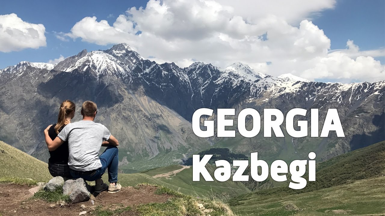 GEORGIA TRAVEL: TRIP FROM TBILISI TO INCREDIBLE KAZBEGI MOUNTAINS & GVELETI WATERFALL (PERFECT D