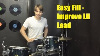 Easy Fill - Strengthen Your Left Hand Lead