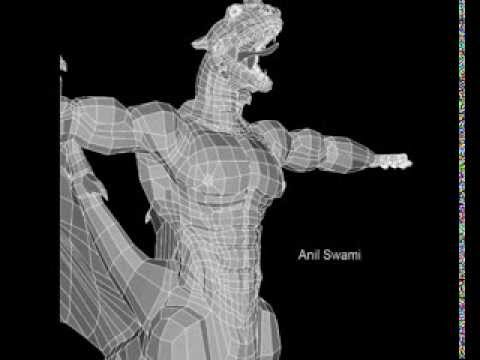 3d models with  wireframe