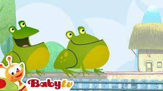 Tricky Tracks - Compter avec les Grenouilles vertes, BabyTV Français