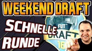 Wenn alle Weekend League spielen | FUT 17 DRAFT - Lets Play #24