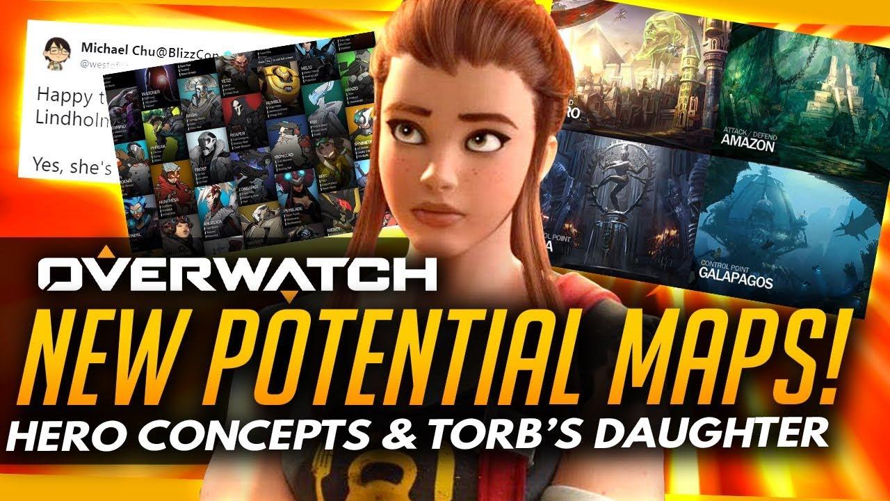 Overwatch Torbjorn Daughter