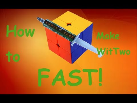 How to Make Your 2x2 FAST!