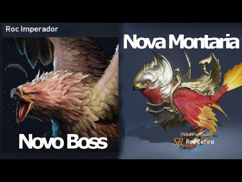 Lineage 2 Revolution: Atualização Novo Boss Roc Imperador e Montaria Roc Zefiro - Omega Play