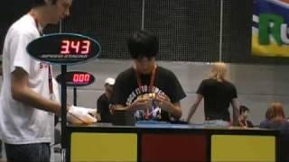 15.41 average at Rubik