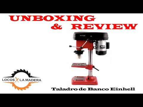 UNBOXING Taladro de Banco EinhellTC-BD 350