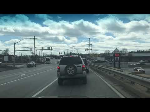HiDef: Time Lapse Video Of Us Driving To The Case Avenue Elementary School In Sharon!-(3/16/2018!)
