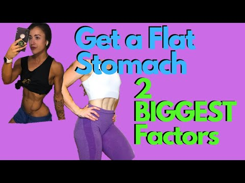 how-to-get-a-flat-stomach---2-biggest-factors-to-shed-fat