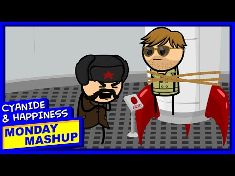 Not So Secret Agents | Cyanide & Happiness Monday Mashup