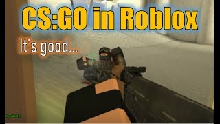 Is This Roblox Game A High Quality Rip-off of CS:GO?!