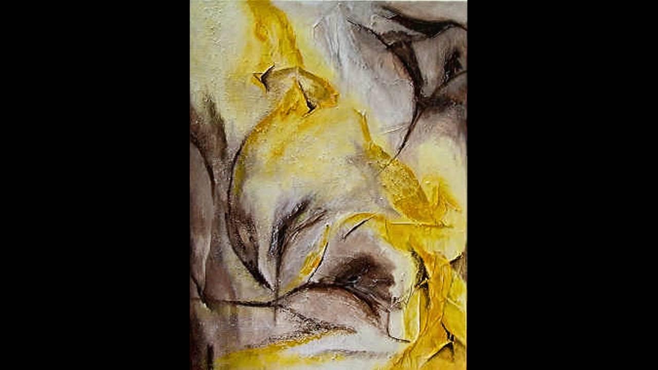 Uitzonderlijk elly's schilderijen acryl abstract - YouTube #FG56