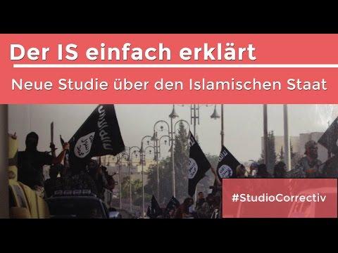 Der IS einfach erklärt #StudioCorrectiv mit Frederik Richter