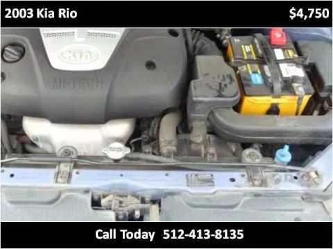 2003 Kia Rio Available From Texas Central Motors Youtube