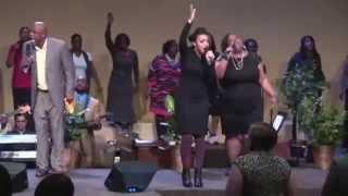 Guest Psalmist Cristabel Clack at TVC 2015 Spring Forward Revival
