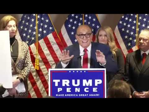 LIVE: Trump Campaign News Conference on Legal Challenges