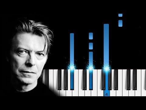 David Bowie - Space Oddity - EASY Piano Tutorial