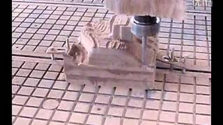 Cnc Router Engraving Wood Pattern Video