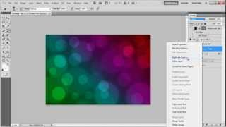How to create a Bokeh Effect In Photoshop